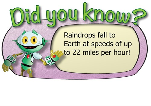 Did you know raindrops