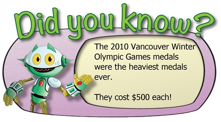 Did you know_Olympic medals