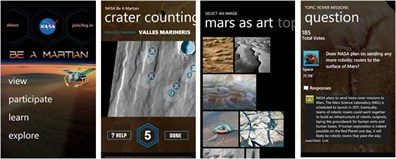 Six of the best windows phone apps for science education nasa be a martian urtaz Choice Image