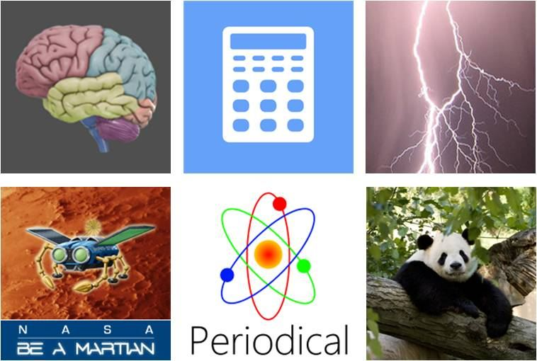 Six of the best... Windows Phone apps for science education