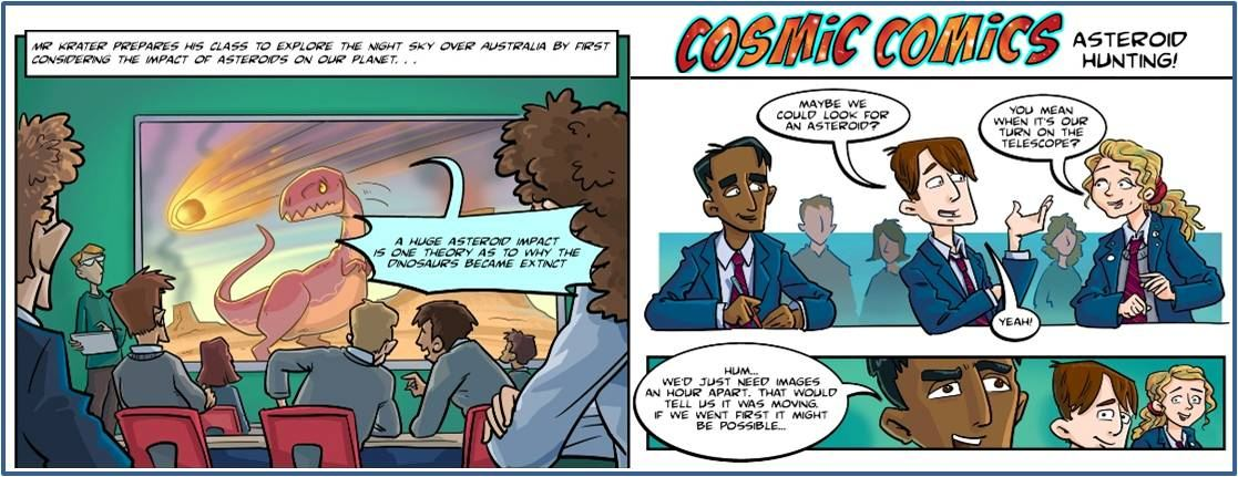 Cosmic Comics (HTML version)