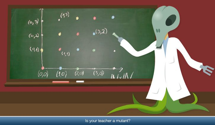 Is your science teacher a mutant?