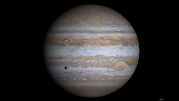 Jupiter - a giant made of gas