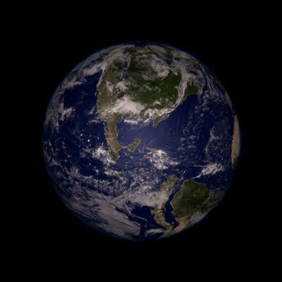 A new view of Earth