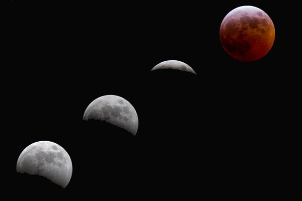 Watch a lunar eclipse