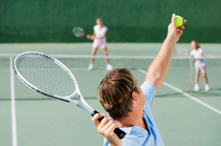 Image result for tennis serve