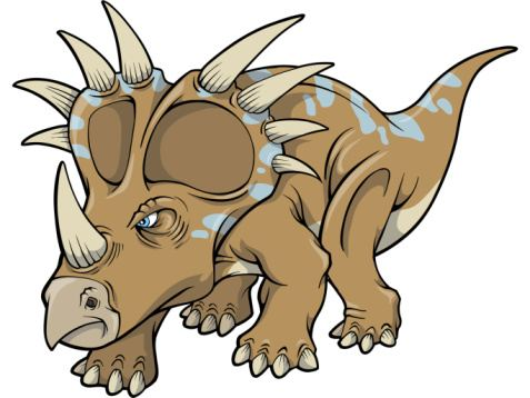 Make a Triceratops!