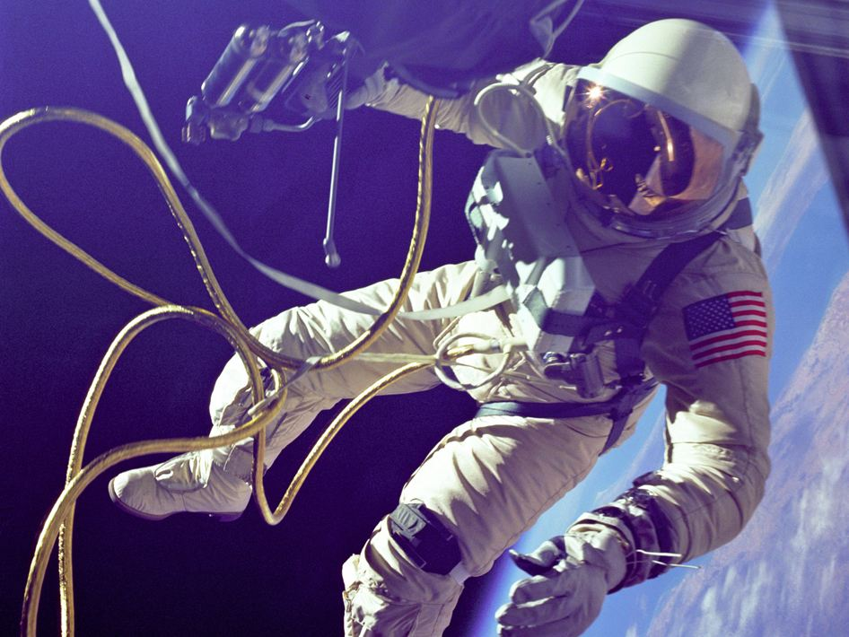 What does an astronaut wear?