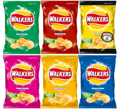 Shrink a crisp packet