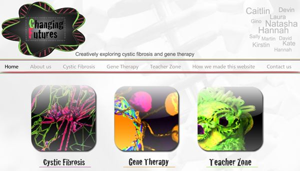 Changing Futures - free resource about cystic fibrosis and gene therapy