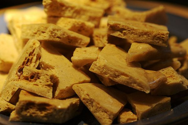 Make your own cinder toffee