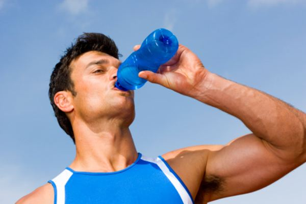 What do Olympic athletes drink?