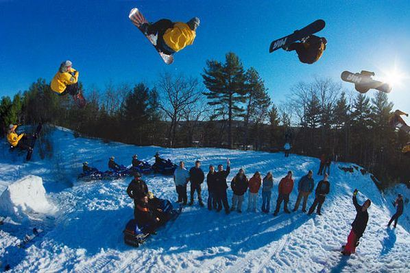 Snowboarding science: the physics of the halfpipe