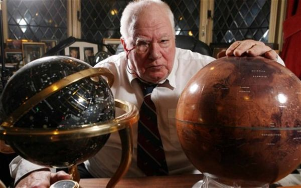 Patrick Moore: inspirational astronomer (1923 - 2012)