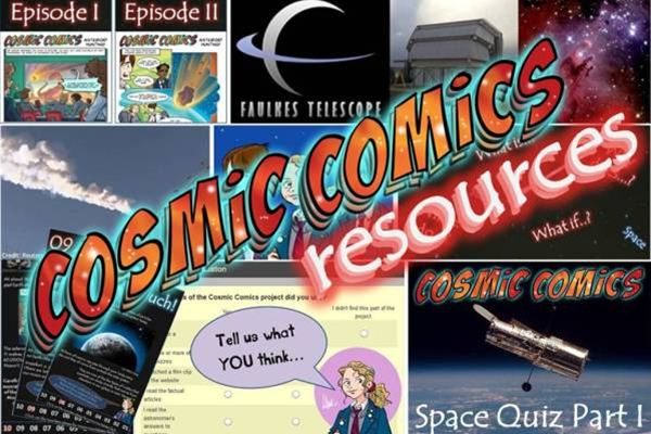 The Cosmic Comics project