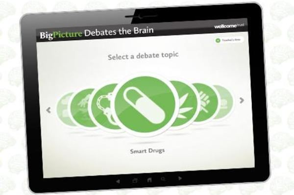 New Big Picture app debates the brain