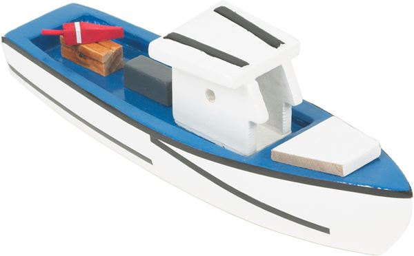 Power a boat with soap