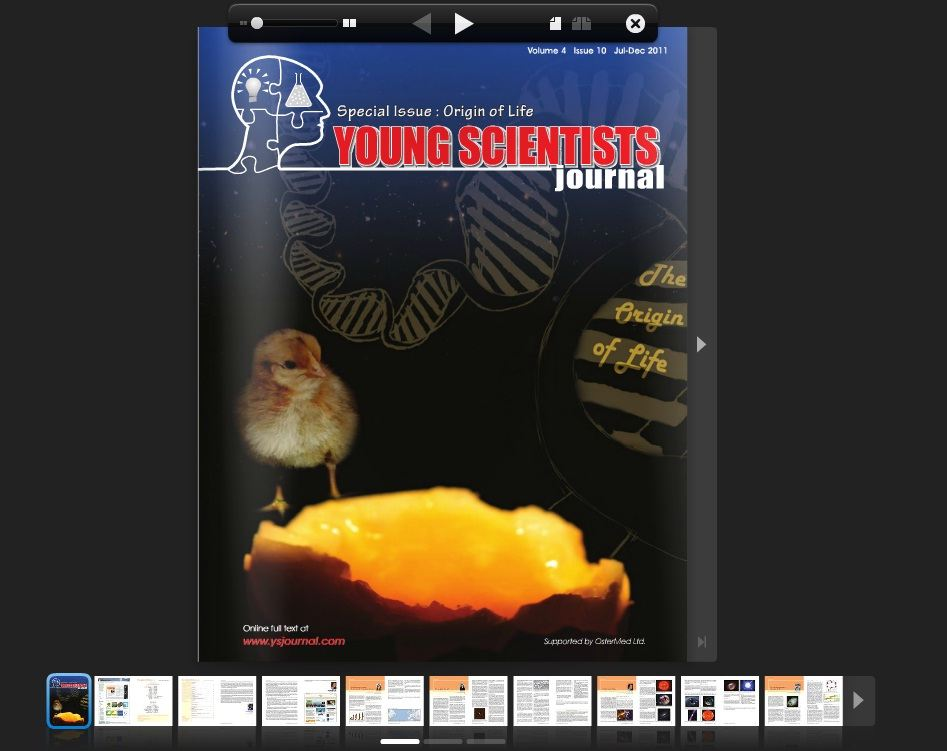 Young Scientists Journal